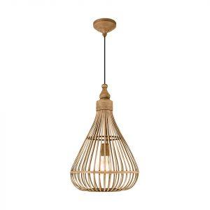Bamboe lamp van leenbakker