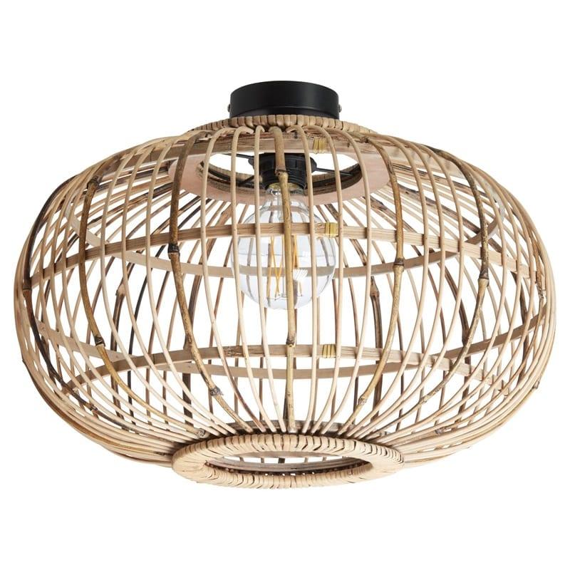 Bamboe lamp van de kwantum