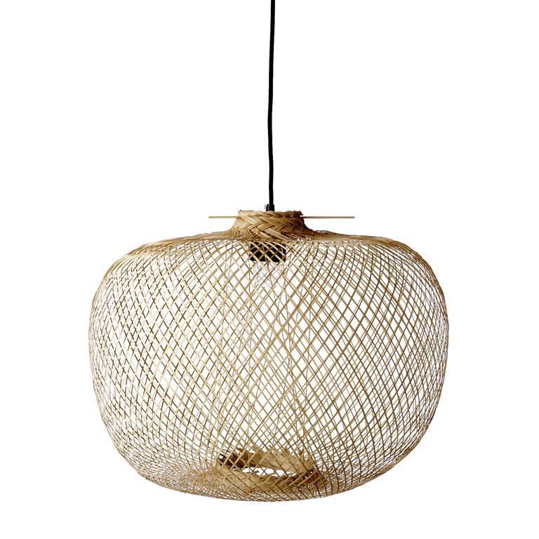 Bamboe hanglamp van Bloomingville