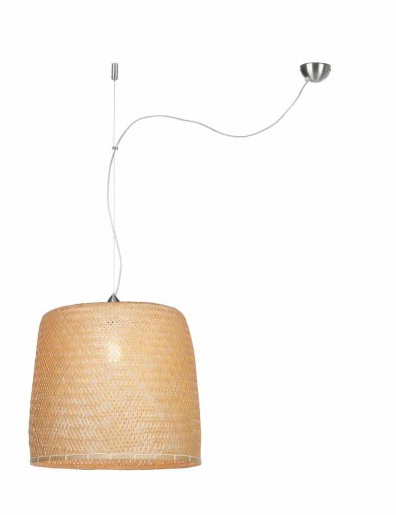 Bamboe hanglamp serengeti van Good&Mojo