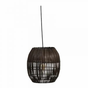 Bamboe lampenkap van J-line