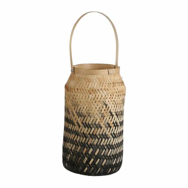 Bamboe windlicht van wehkamp