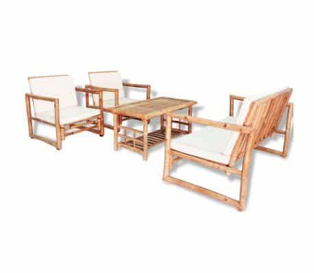 Bamboe loungeset van VidaXL