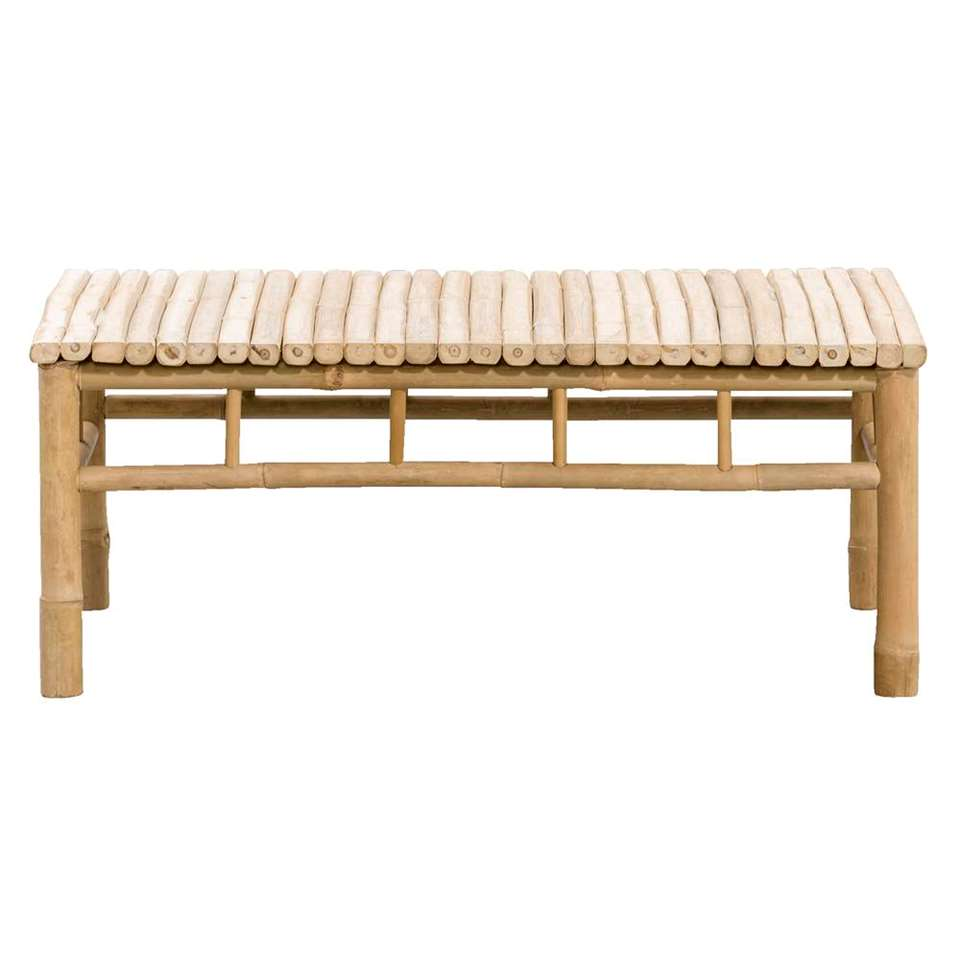 Bamboe loungetafel van Leenbakker