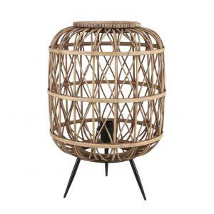 Bruine bamboe lamp lea van Mica