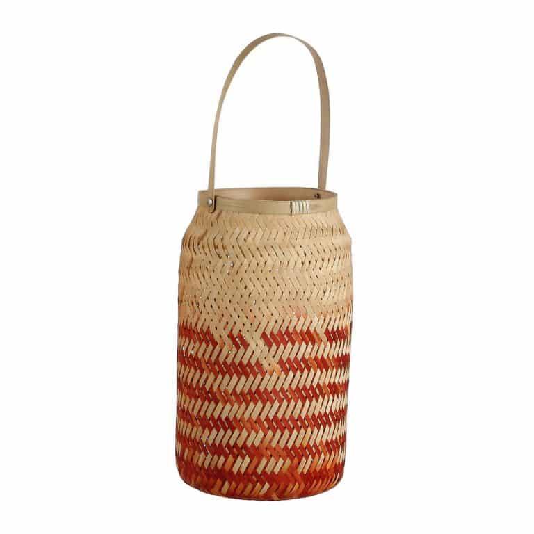 Bamboe windlicht van Mica Decorations