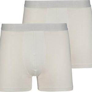 Witte bamboe boxershorts van de hema