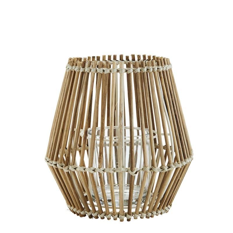 Bamboe windlicht van Madam Stoltz