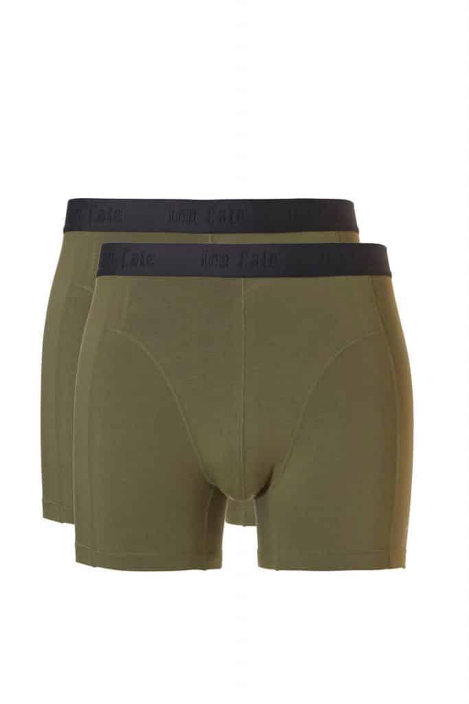 Groen bamboe boxershort van Ten Cate
