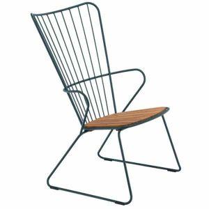 Bamboe fauteuil pine green van Houe
