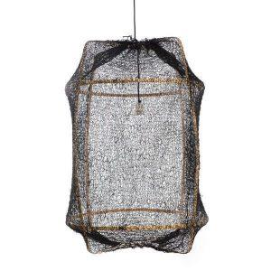 Z2 hanglamp zwart sisal van Ay Illuminate