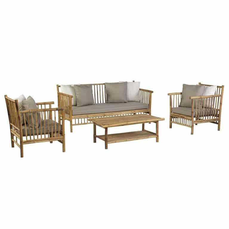 Bamboe loungeset exotan