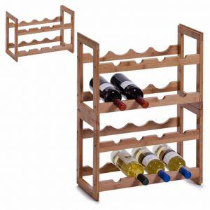 Bamboe wijnrek voor 8 flessen van Zeller