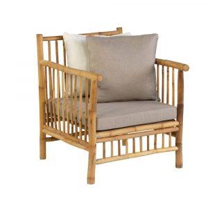 Bamboo loungestoel van Exotan
