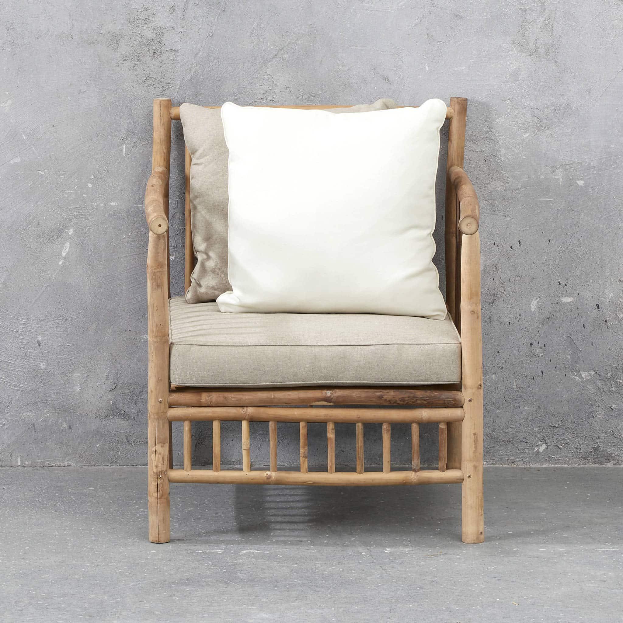 Exotan bamboe loungestoel van Wehkamp