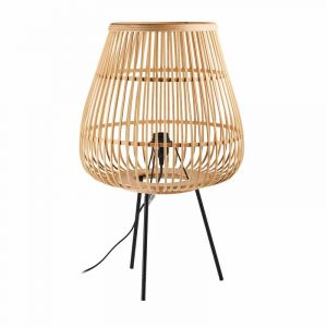 Bamboe lamp op pootjes van de Xenos