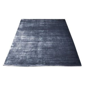 Bamboe vloerkleed steel black van Massimo
