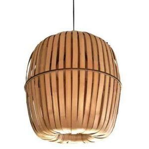 Bamboe hanglamp kiwi medium van Ay Illuminate