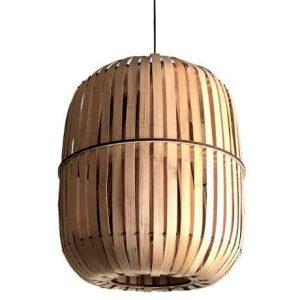 Bamboo hanglamp wren large van Ay Illuminate