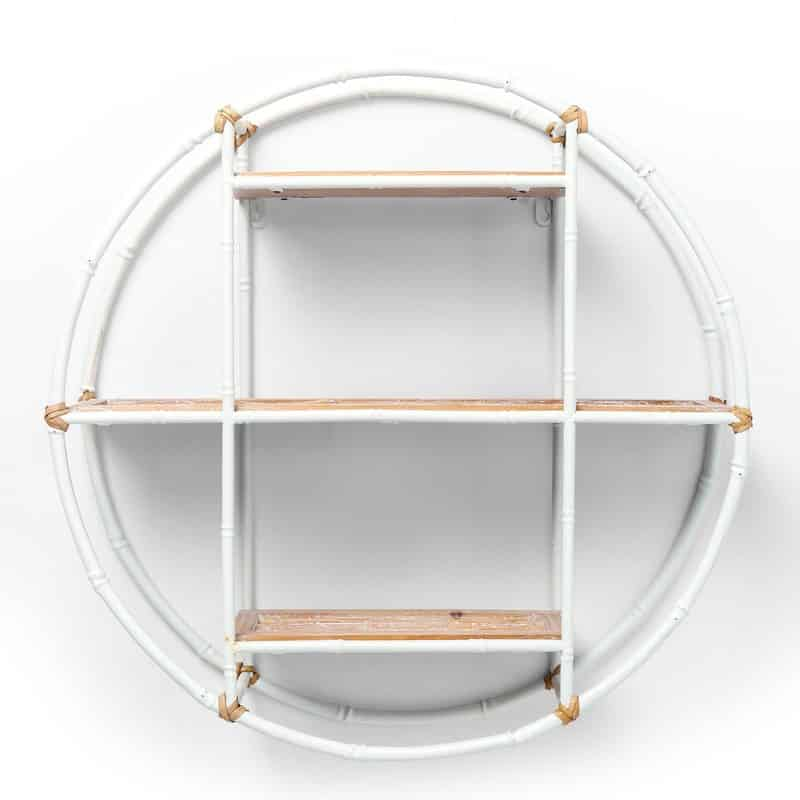 Bamboe wandrek wit van kare design
