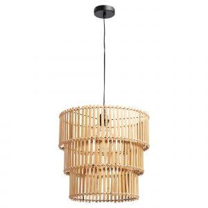 Bamboe hanglamp hebe naturel van de kwantum
