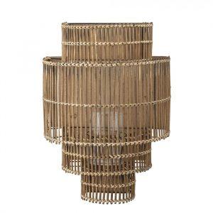 Bamboe wandlamp van bloomingville