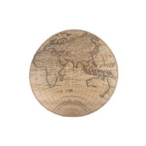 Bamboe wereldkaart van cozy ibiza