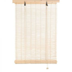Rolgordijn bamboe basic naturel van leenbakker