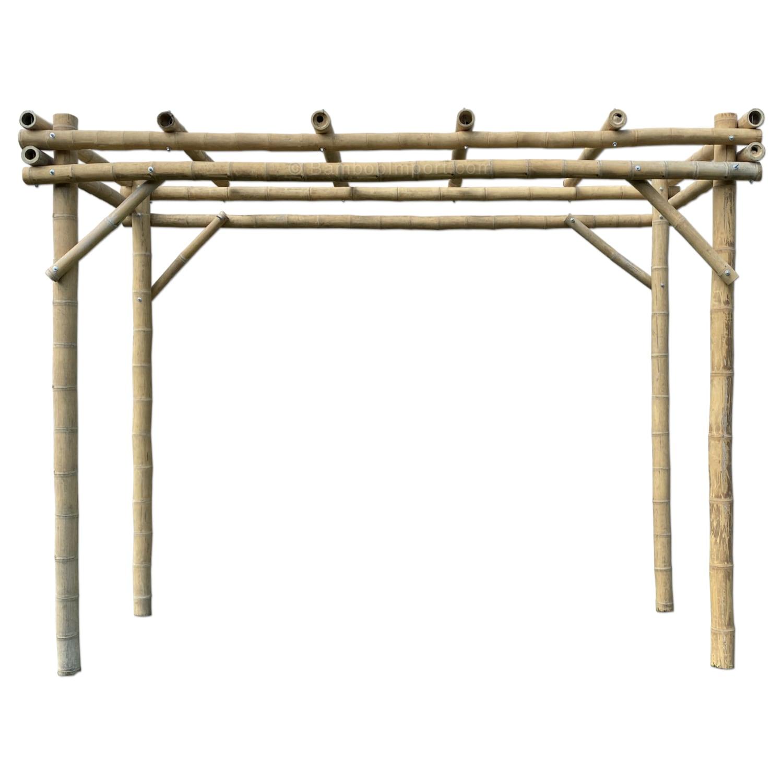 Bamboe pergola guadada van Bambooimport