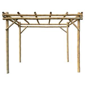 Bamboe pergola guadua van Bambooimport.com