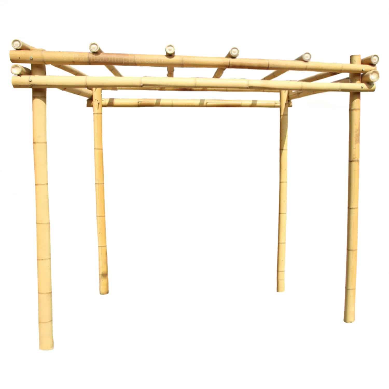 Bamboe pergola moso van Bambooimport