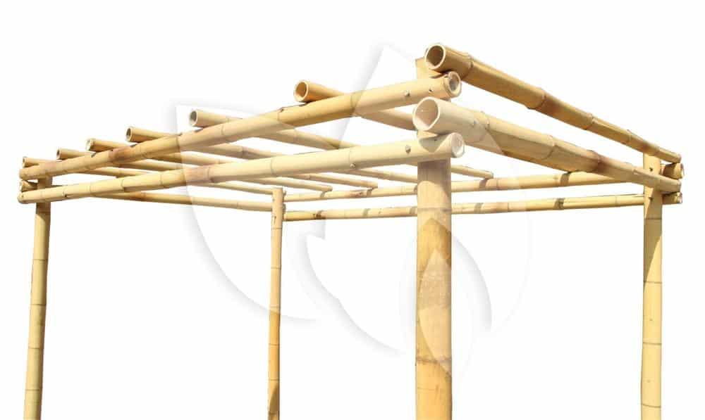 Bamboe pergola van tuinexpress