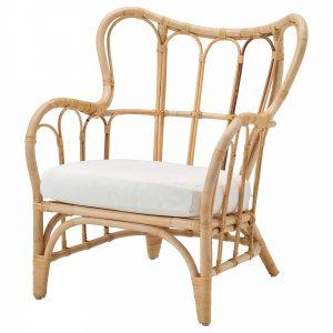 Mastholmen fauteuil bamboe van Ikea