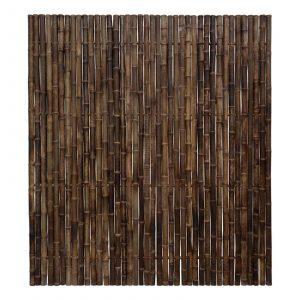 Zwarte bamboe schutting trendline van bamboo import