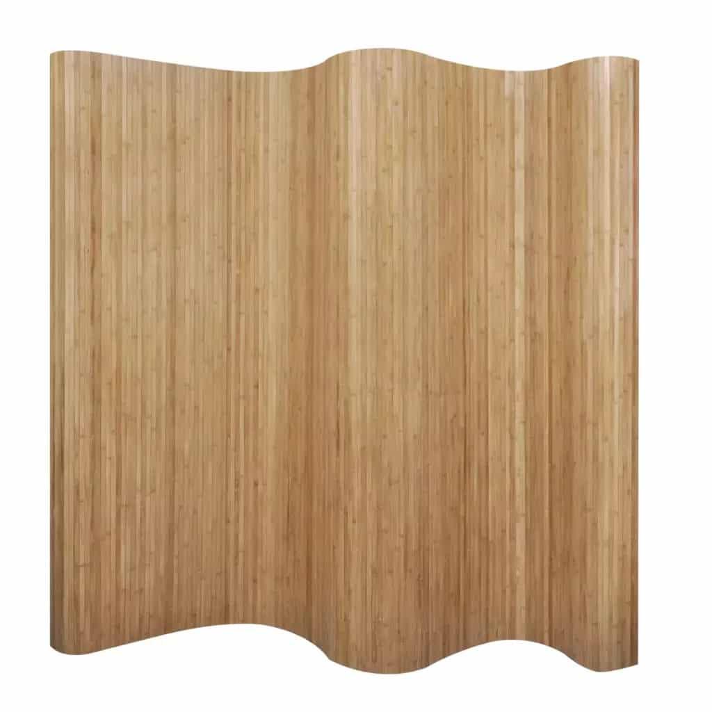 Bamboe kamerscherm natuurlijk van vidaxl