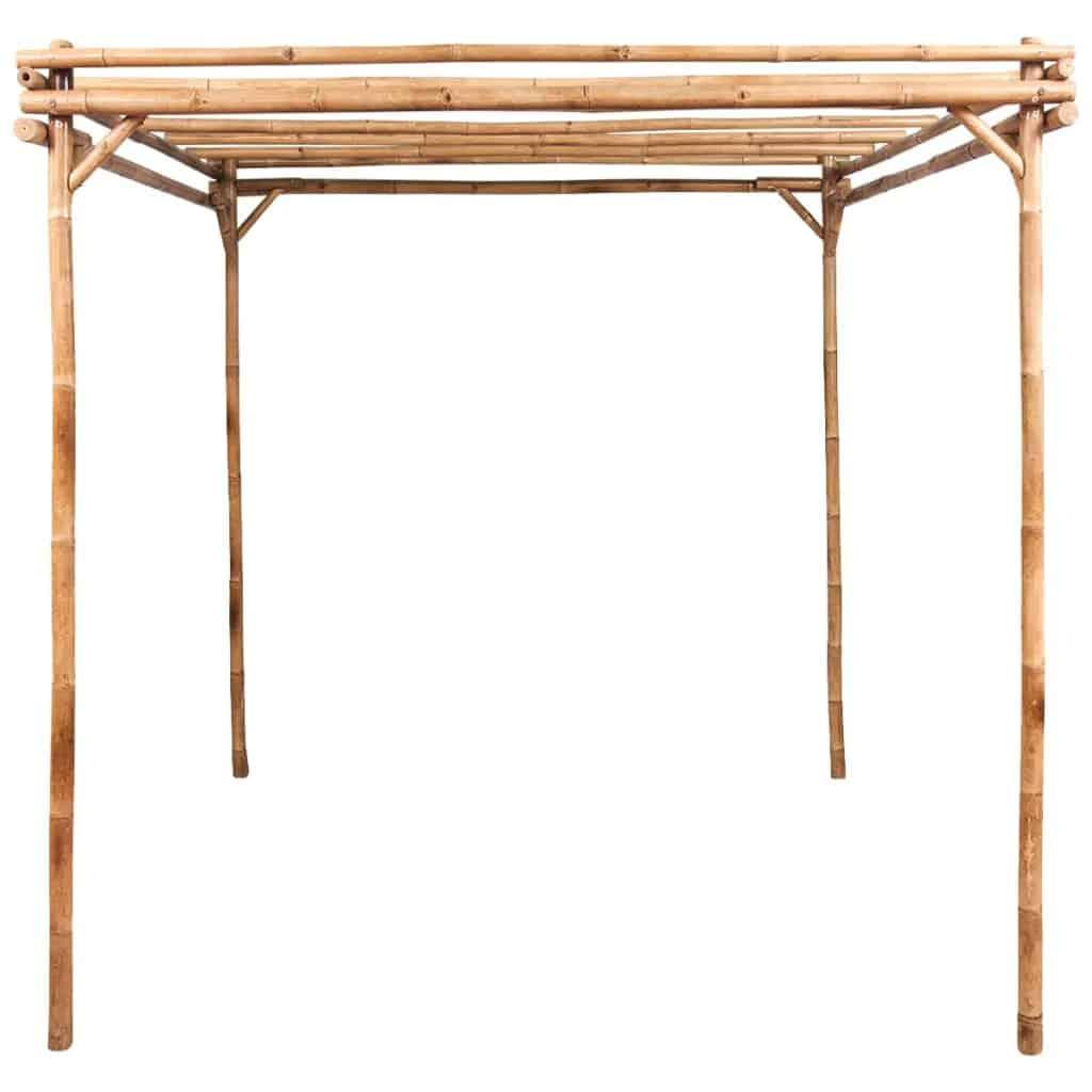 Bamboe pergola van vidaxl