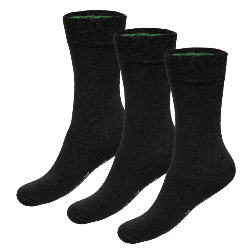 Zwarte bamboe sokken beau van bamboo basics