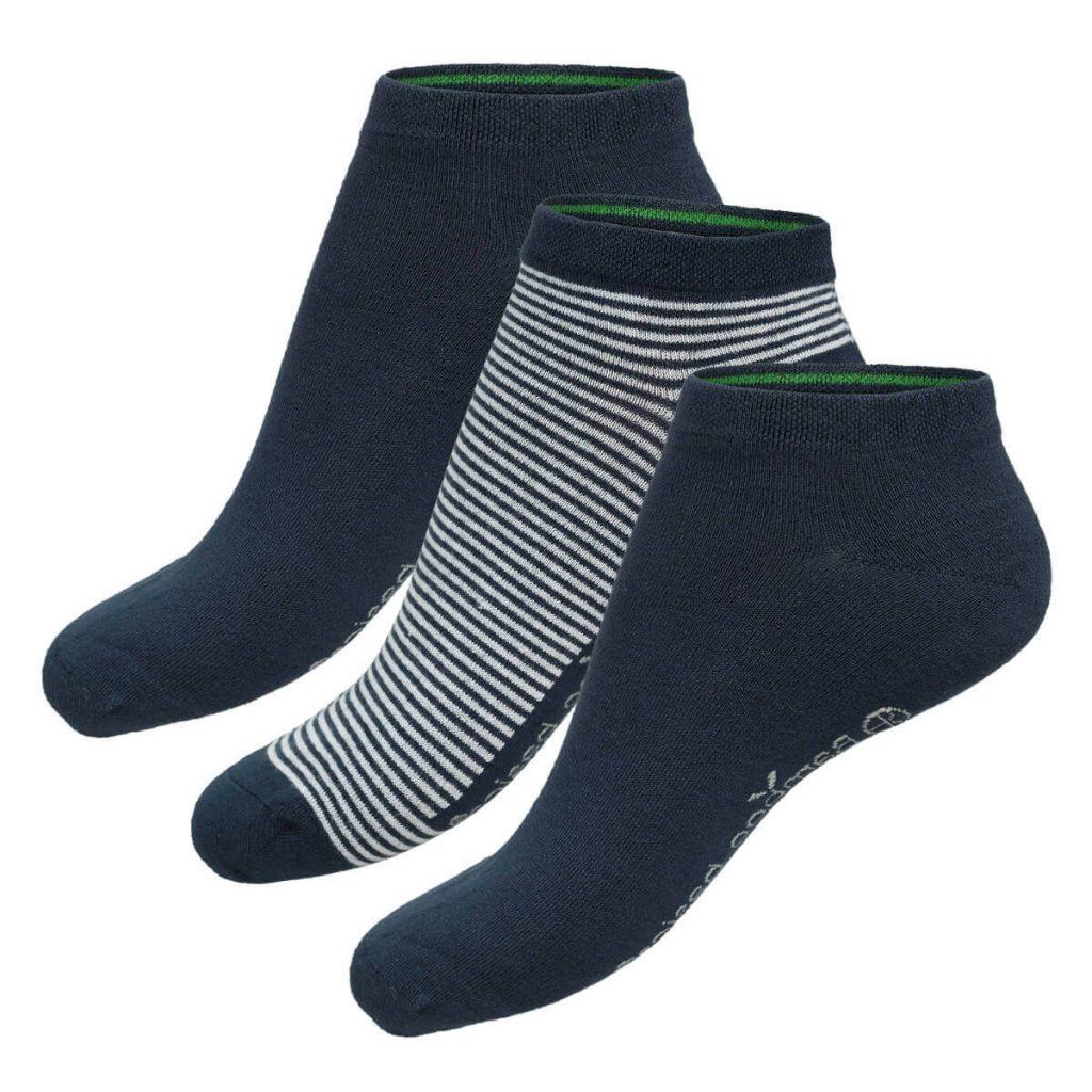 Bamboe sokken dani navy van bamboo basics