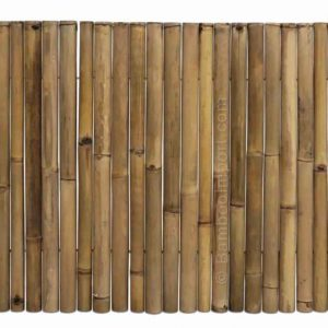 Bamboemat deluxe 180x100 cm van bamboo import