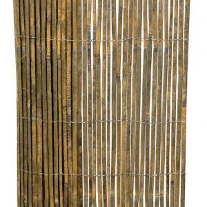 Gespleten bamboemat op rol 500x100 cm van bamboo import
