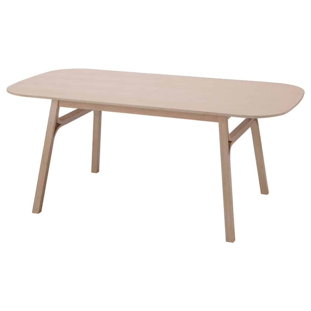 Bamboe eettafel voxlov van Ikea