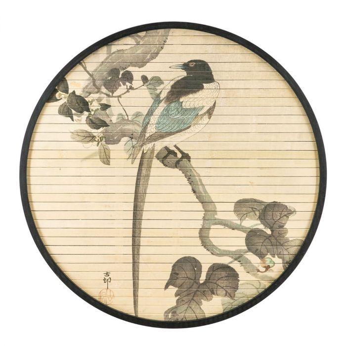 Bamboe wanddecoratie morita van by boo