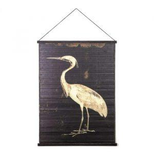 Bamboe wandkleed miyagi bird large van by boo