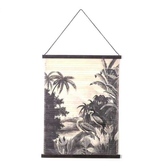 Bamboe wandkleed miyagi jungle small