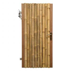 Bamboe poortdeur giant 100x200 cm