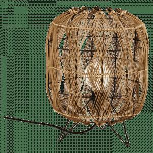 Bamboe tafellamp van Madam Stoltz