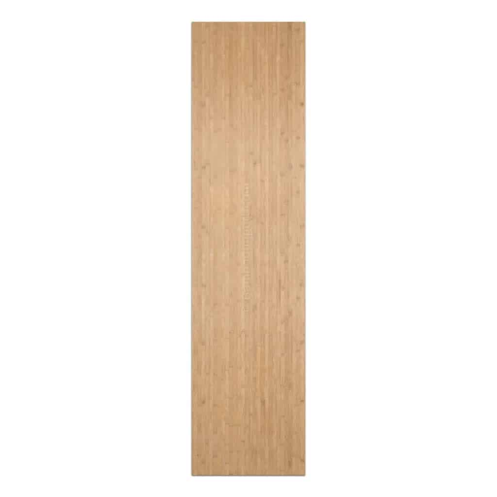 Bamboe plaat 5 laags caramel horizontaal