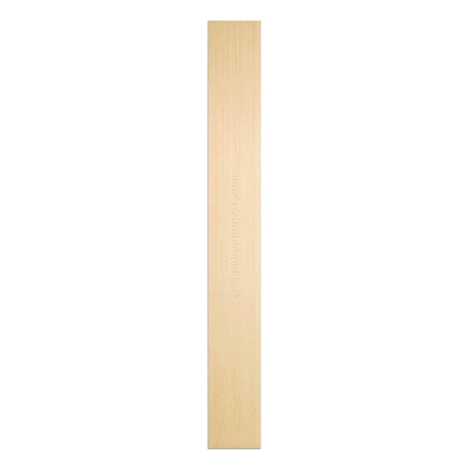 Bamboe plaat naturel 3 laags verticaal 2440x300x10 mm
