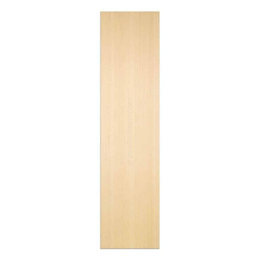 Bamboe plaat naturel 5 laags verticaal geperst 2440x605x20 mm
