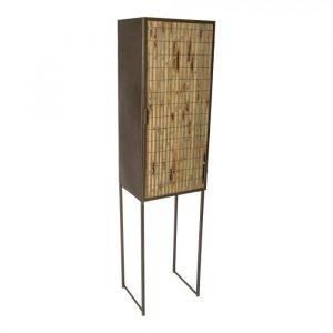 Bamboe kast metaal 1 deurs ptmd
